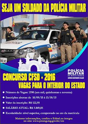 Concurso da Polícia Militar de Minas Gerais