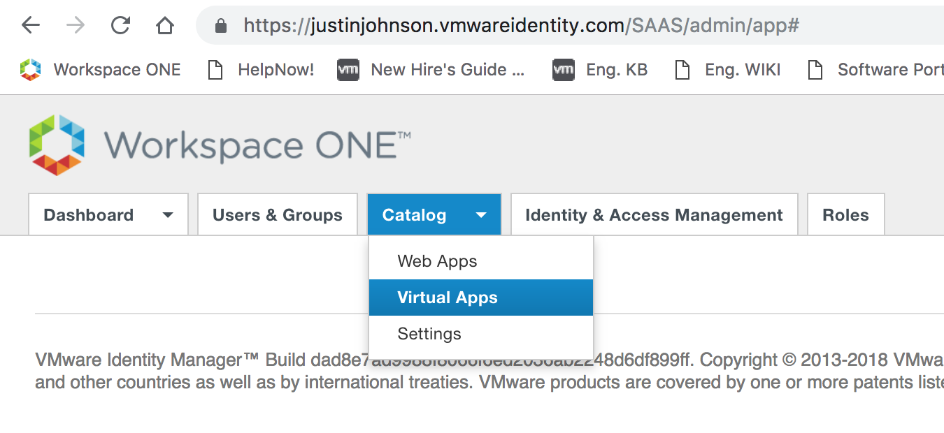 Even Gooder: Integrating A Cloud Instance Of VMware Identity