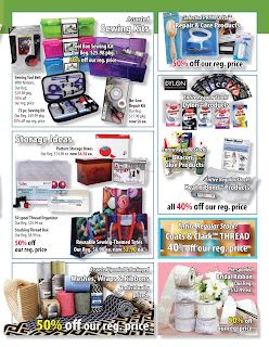 Fabricland Flyer May 3 – 28, 2017