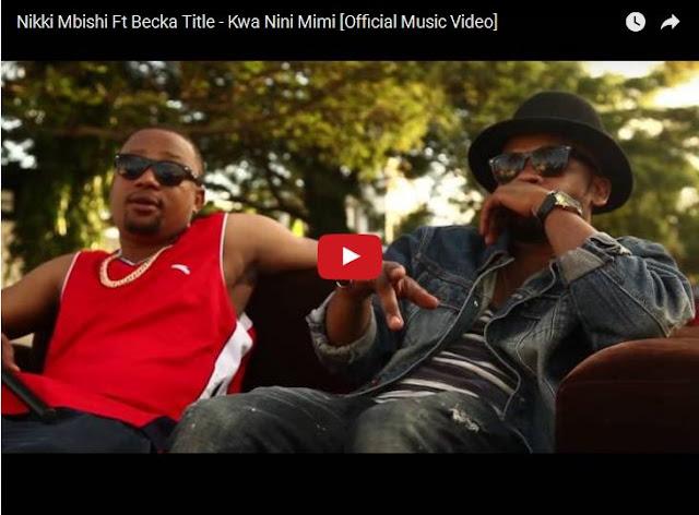 VIDEO MPYA: Nikki Mbishi Ft Becka Title – Kwa Nini Mimi