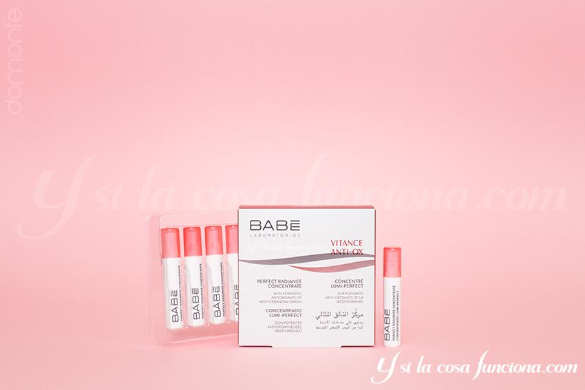 Producto Concentrado Lumi-Perfect Babé Vitance Antiox