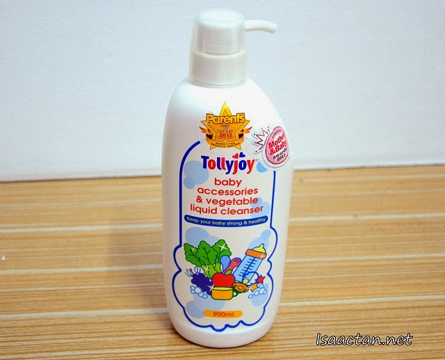 #5 Tollyjoy Baby Accessories & Vegetable Liquid Cleanser