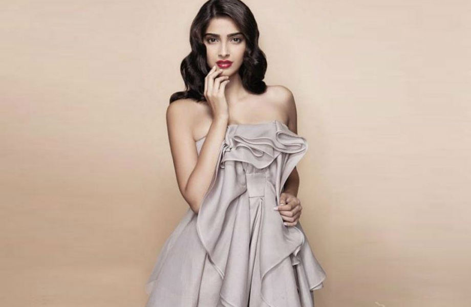 Sonam Kapoor for the Fashionistas as a Trendsetter