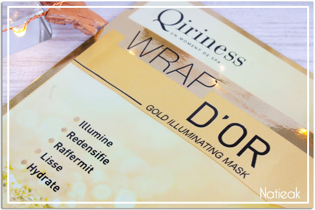 Qiriness  MasqueWrap d'or