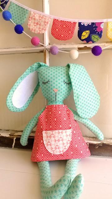 sweet bunny softie