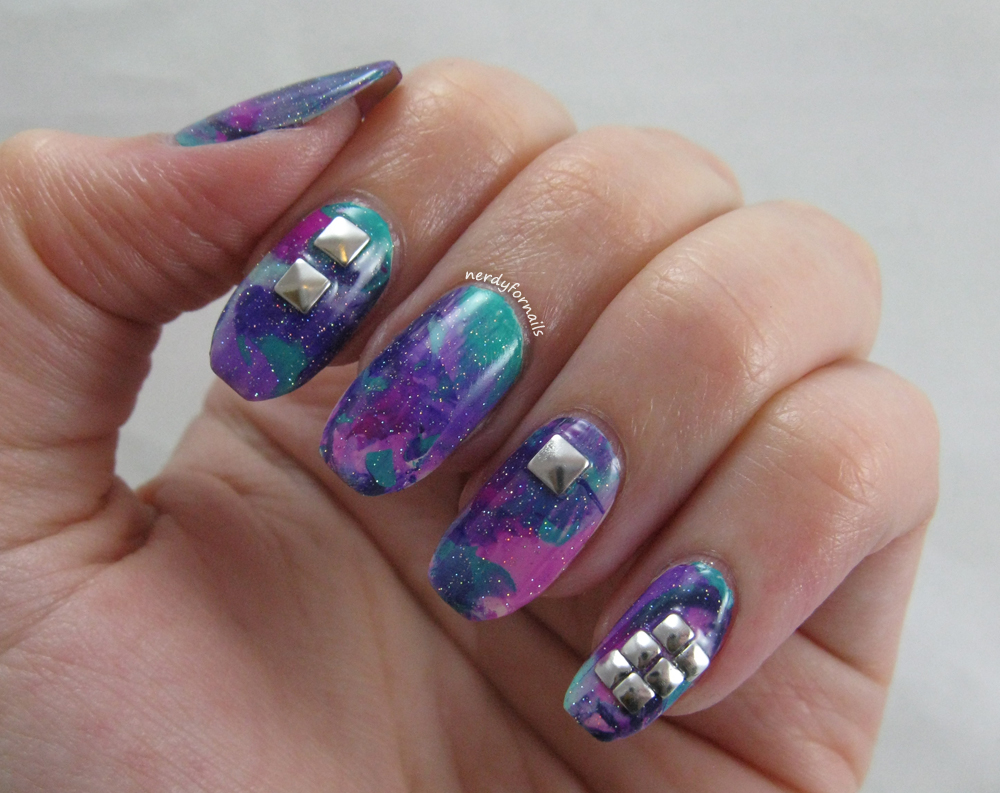 Nerdy for Nails: New Years Nails: 2016