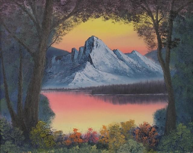 Американский художник. Aaron Thomas 12