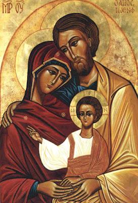 Sagrada Família - Ícones para grupo de oração, seminário de vida no Espírito Santo e eventos