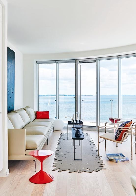 apartamento con vistas al mar baltico chicanddeco