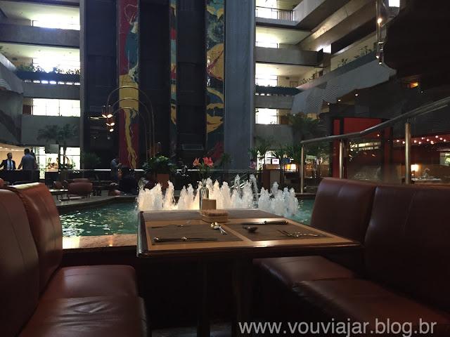 Café da manhã do hotel Maksoud Plaza, em São Paulo