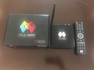 Multisat M200 Primeira Atualização - 12/12/2018