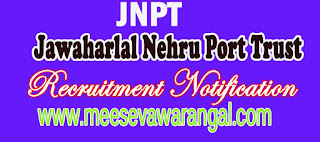 Jawaharlal Nehru Port Trust JNPT Recruitment Notification 2016