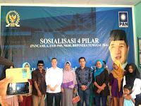 Sosialisasi 4 Pilar di Dompu, HM. Syafrudin, ST, Disambut Meriah