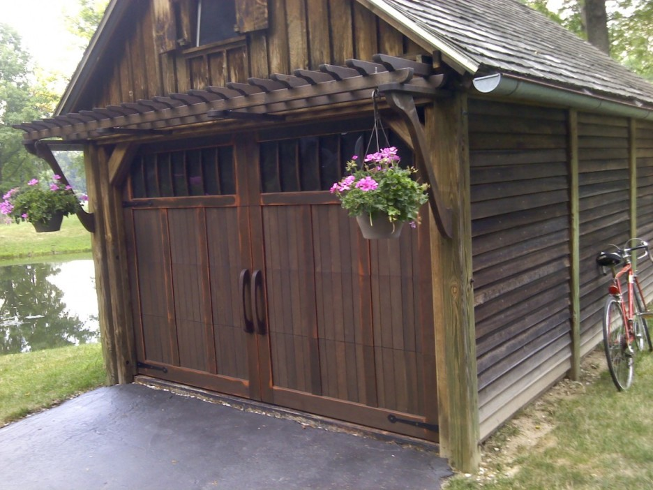 ScooterMcRads Whatchaworks Garage Friday  Driveways and Carriage Doors