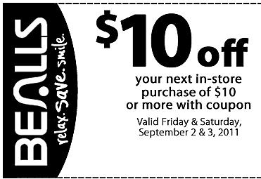 graphic regarding Free Printable Bealls Florida Coupon referred to as Bealls florida printable coupon december / Scottrade discounts
