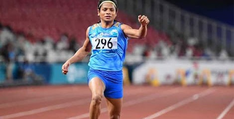 Asian Games 2018: Dutee Chand wins silver in women's 200M race