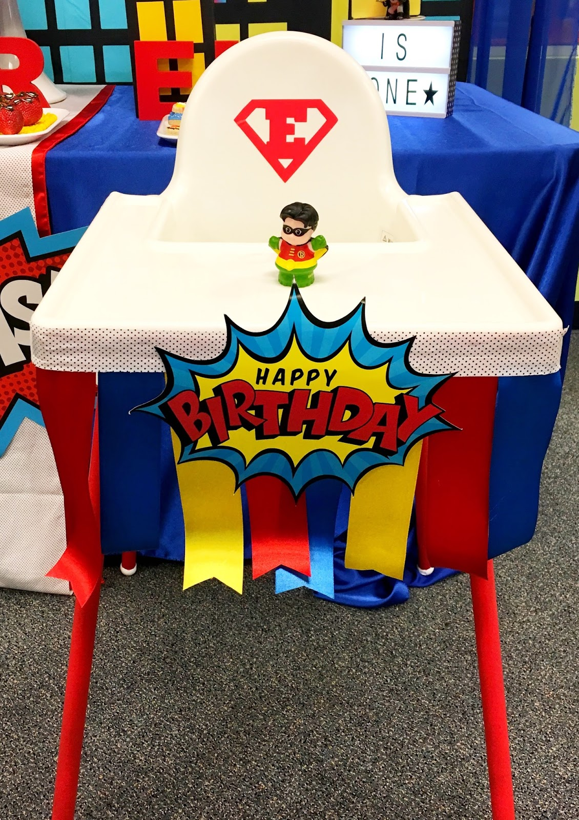 Diy How To Make A Custom First Birthday High Chair Banner