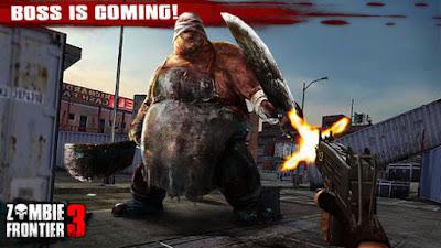 โหลดเกม APK Zombie Frontier 3 Hack โกง