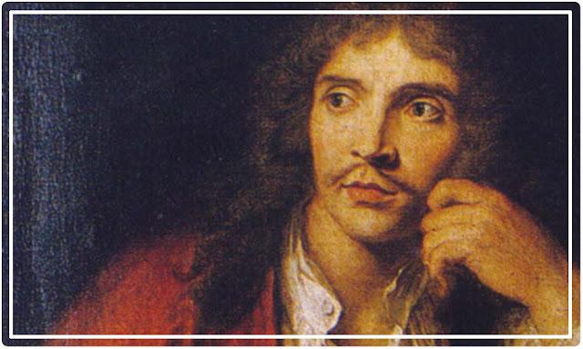 Molière, peinture Charles-Antoine Coypel