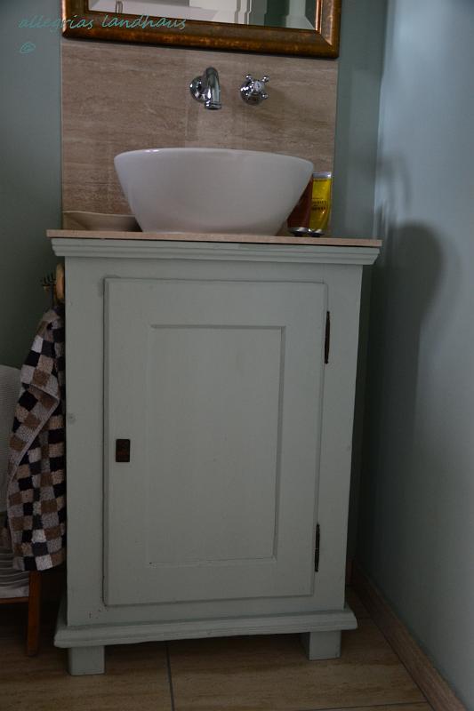 Ein Altes Schrankchen Wird Zum Waschtisch Allegrias Landhaus
