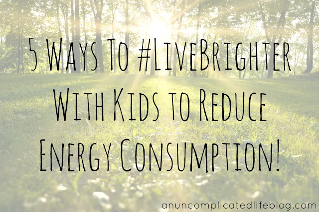 Go greener with Direct Energy's #LiverBrighter campaign - use less energy!