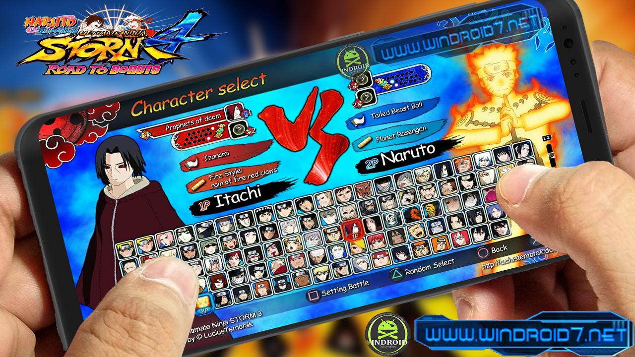 Naruto Mugen Apk Sin Emulador [Naruto Shippuden:Era Shinobi