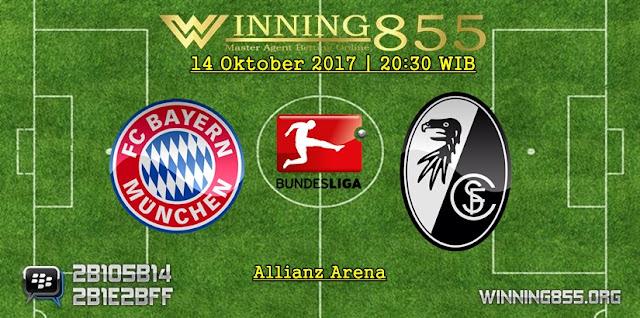 Prediksi Skor Bayern Munchen vs Freiburg 14 Oktober 2017