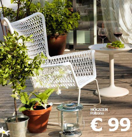 Arredo a modo mio ikea le soluzioni per esterno for Mobili giardino ikea