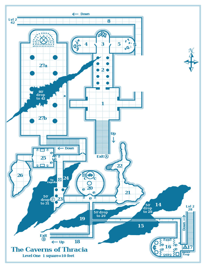CAVERNS THRACIA PDF | Guest Review: Caverns of Thracia