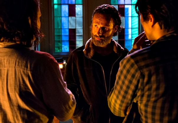 The Walking Dead. Four Walls and a Roof (5x03)