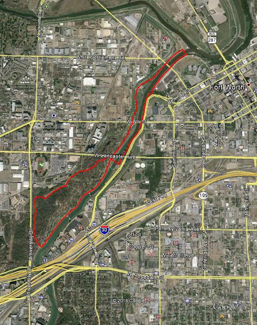 Trinity Trails: Walking, Jogging, Biking Trail Loops Near Downtown