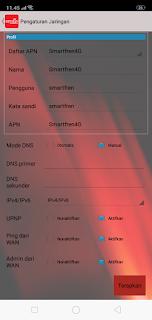 cara setting modem smartfren yang tidak bisa connect