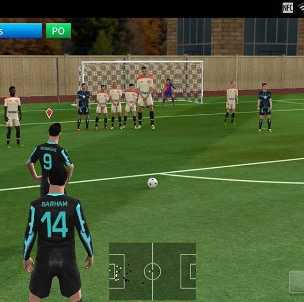 Dream League Soccer 2019 freekick