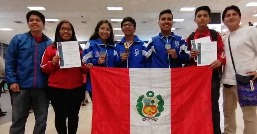 Escolares peruanos ganan medallas de oro y plata en XI Olimpiada Latinoamericana de Astronomía y Astronáutica 2019 de México