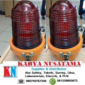 Jual Tower Lamp Diameter 4 INCH Blitz Warna Merah di Jepara