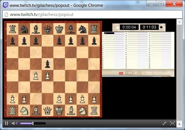 Live Broadcast DGT Chess Board test