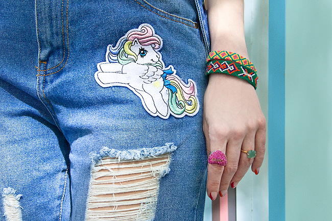 Tezenis, My Little Pony Look,, denim trousers