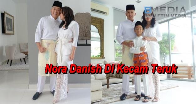 Mak Aik. Nora Danish Di Kecam Kerana Pakai Skirt Jarang Di Pagi Raya?