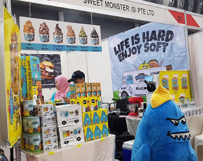 Sweet Monster halal-certified ice cream from Korea is available in Singapore.