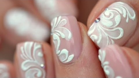 16 Best Bridal Nail Arts In Various Designs And Decoration Wedding