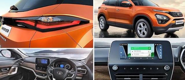 New Tata Harrier all features
