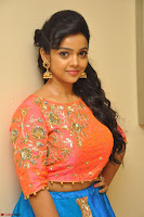 Nithya Shetty in Orange Choli at Kalamandir Foundation 7th anniversary Celebrations ~  Actress Galleries 027.JPG