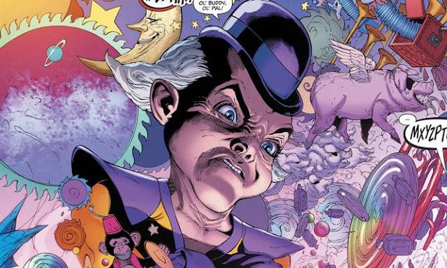 Sejarah Asal-Usul Mr Mxyzptlk (DC Comics)