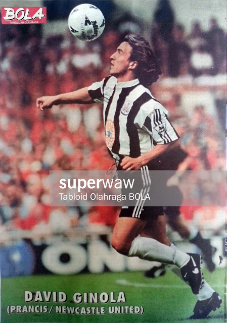 David Ginola Newcastle United