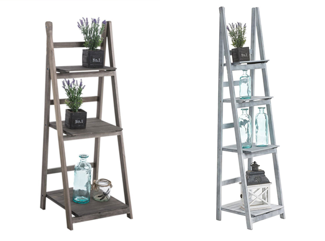 6 ideas para utilizar escaleras de madera en la decoraci n for Escaleras de madera decoracion ikea