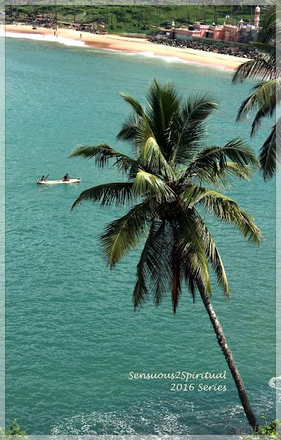 Kovalam beach, Juma Mazjid, Leela Palace Kovalam