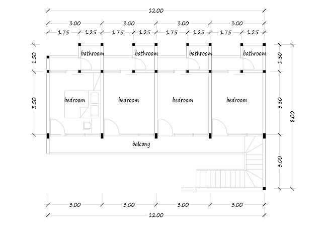 Boarding house plan 21