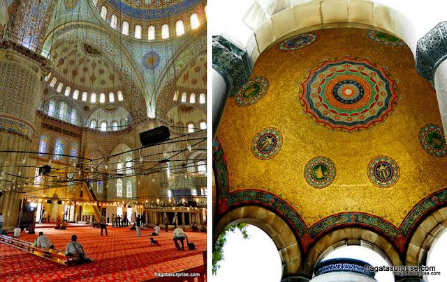 Mesquita Azul e Fonte do Hipódromo, Istambul, Turquia