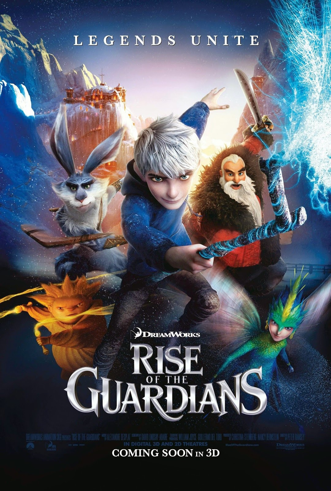 Rise of The Guardians ห้าเทพผู้พิทักษ์ [HD][พากย์ไทย]
