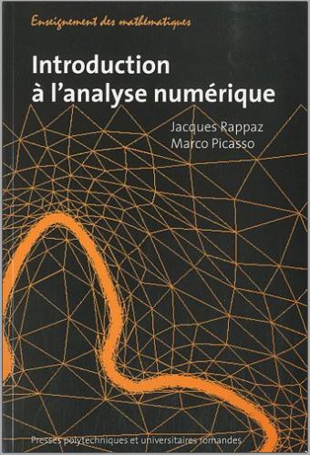 Livre : Introduction à l'analyse numérique - PPUR, Jacques Rappaz PDF